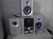 Музыкальный центр PANASONIK LVL стерео system SA-VK 650 5 disk changer