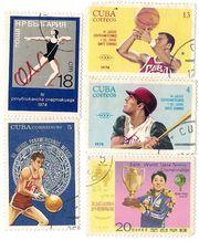 Продам кубинские и чехословацкие почтовые марки