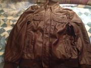 мужские кожанные куртки из Америки