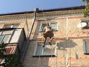 Высотные работы.Утепление межпанельных швов.Ремонт балконов и крыш.
