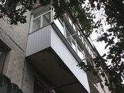 Частичный и полный ремонт балконов.Установка пластиков окон (рам).